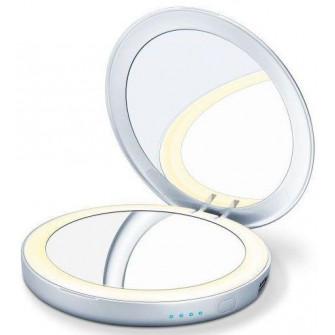 Oglinda cosmetica cu baterie externa BS39