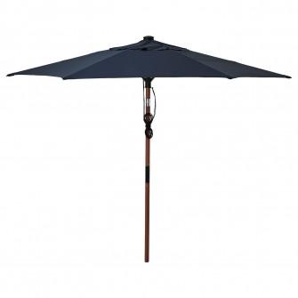 IKEA BETSO / LINDOJA Umbrela soare, maro aspect lemn, a