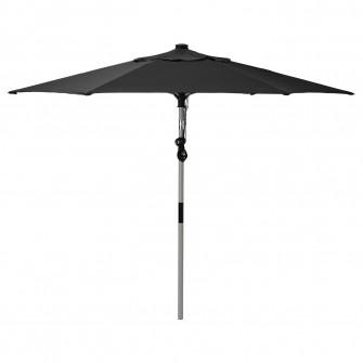 IKEA BETSO / LINDOJA Umbrela soare, gri aspect lemn, ne