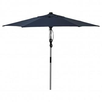 IKEA BETSO / LINDOJA Umbrela soare, gri aspect lemn, al