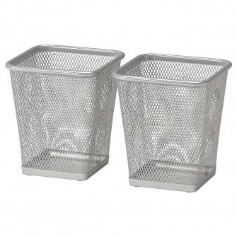 IKEA DOKUMENT Suport pixuri - argintiu