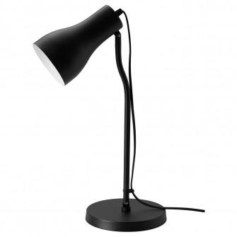 IKEA FINNSTARR Veioza birou, negru