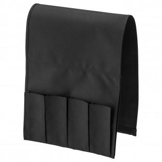 IKEA FLORT Buzunar telecomanda - negru