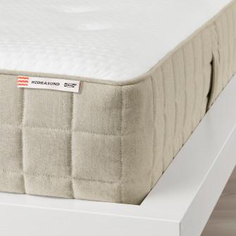 IKEA HIDRASUND Saltea cu arcuri impachetate, fermitate