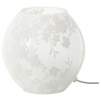 IKEA KNUBBIG Veioza - flori de cires alb