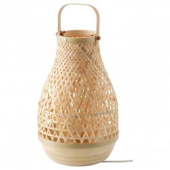 IKEA MISTERHULT Veioza, bambus, 36 cm