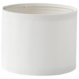 IKEA RINGSTA Abajur, alb, 19 cm