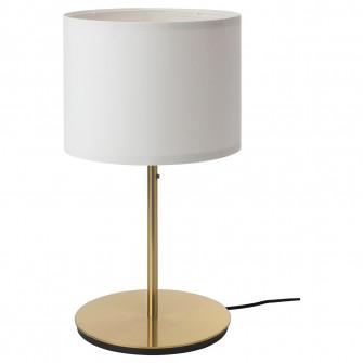 IKEA RINGSTA / SKAFTET Veioza, alb, alama, 56 cm