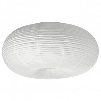 IKEA RISBYN Plafoniera LED, alb, 50 cm