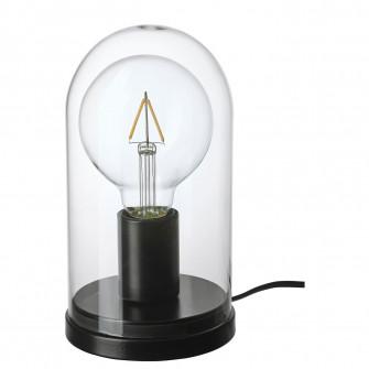 IKEA ROPUDDEN / LUNNOM Veioza/bec, glob, cupola