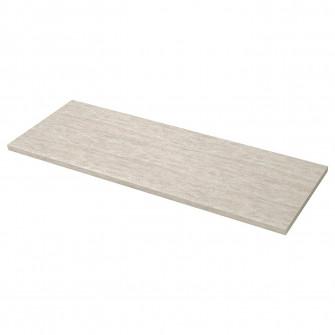 IKEA SALJAN Blat, bej aptr, laminat, 186x3.8 cm