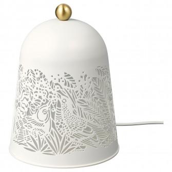 IKEA SOLSKUR Veioza LED, alb, alama