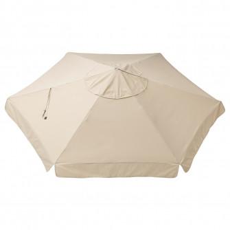 IKEA VARHOLMEN Panza umbrela, bej, 300 cm