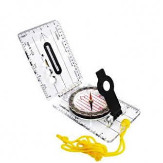 Busola AceCamp Foldable Map Compass 80x55 mm, 3113