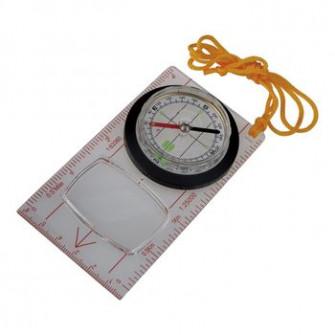 Busola AceCamp Fluorescent Map Compass 112x62 mm, 3116