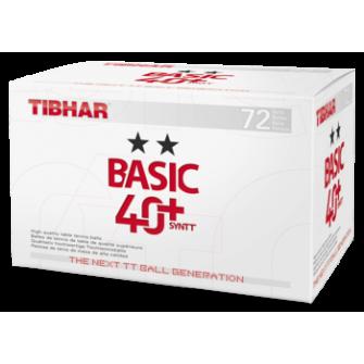 Minge tenis de masa Tibhar Basic 2** 40+ SYNTT (880)