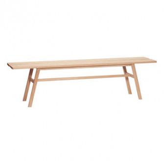 Bancheta din lemn stejar 180 cm Oak Hubsch 880609
