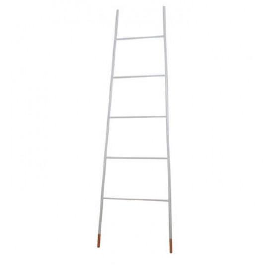 Scara decorativa din otel alb 175 cm Ladder Zuiver 7900004