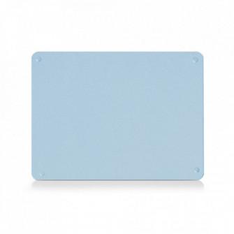 Tocator dreptunghiular albastru din sticla 30x40 cm Che